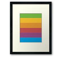 Apple Rainbow Framed Print