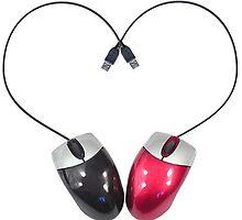 Mice in love by Vitalia