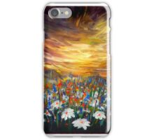 Sunset in Daisy Valley iPhone Case/Skin