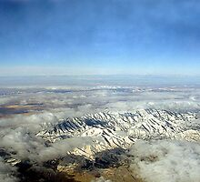 Frozen Rocky Mountains by RoyAllen Hunt
