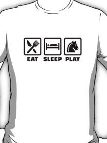 Eat sleep play Chess T-Shirt