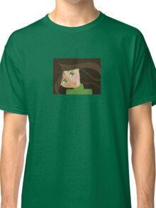 Green eyes portrait t-shirt Classic T-Shirt