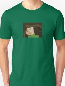 Green eyes portrait t-shirt Unisex T-Shirt