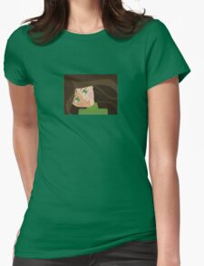 Green eyes portrait t-shirt T-Shirt