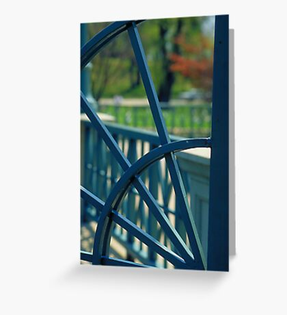 Iron Gate - Roger Williams Park Greeting Card