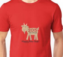 Happy New Year 2015 Year of the Goat Unisex T-Shirt