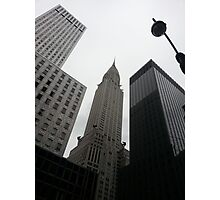 Gray Sky New York City Photographic Print