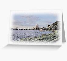 Charles River Sketch Greeting Card