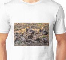 Hyena Cubs 2 (Hyaenidae) Unisex T-Shirt