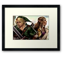 Legend of Zelda Framed Print