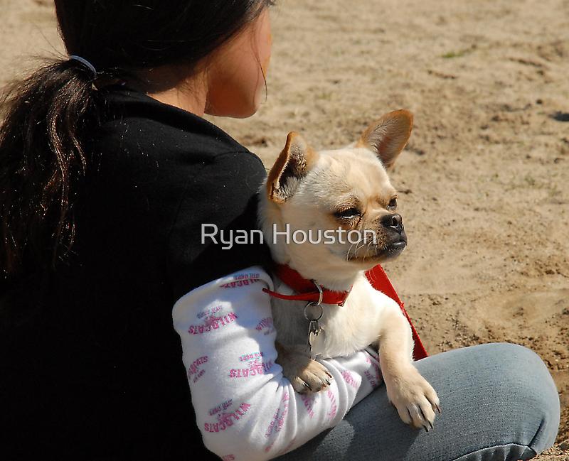Girl and Dog by Ryan Houston