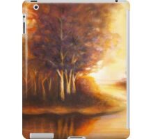 Golden Autumn landscape iPad Case/Skin