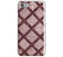 Cross-Hatch iPhone Case/Skin