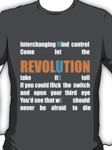 Muse Band Revolution Uprising  T-Shirt