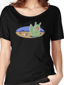 Squirrel Cactus  Women's Relaxed Fit T-Shirt