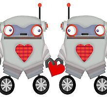 Robot Romance by alphabetty