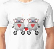 Robot Romance Unisex T-Shirt