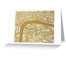 London map Greeting Card