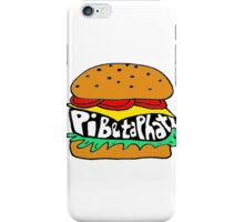 pi beta phi burger iPhone Case/Skin