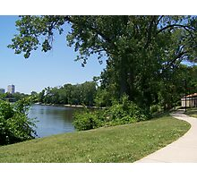 St Joe River, South Bend, IN Photographic Print