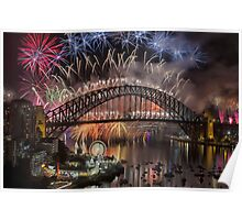 What a Blast - Sydney New Years Day 2015  Poster