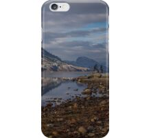 Okanagan Lake at Penticton, BC iPhone Case/Skin