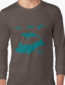 Whale Comparison Chart, VS Long Sleeve T-Shirt