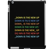 Radiohead - Down Is The New Up iPad Case/Skin