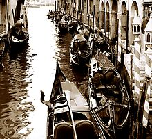 Sleeping Gondolas by DavidROMAN