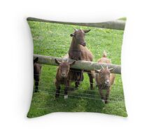 Rogues Gallery Throw Pillow