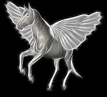 Shades of Myth™- The Pegasus by Liane Pinel