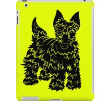 Shaggy Scotty Dog  iPad Case/Skin