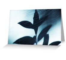 Shadow on the Wall Greeting Card