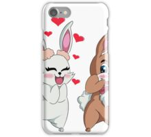 Bunny Valentine  iPhone Case/Skin