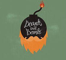 Beards not Bombs by BeardyGraphics