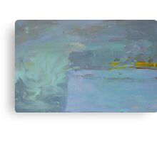 Blue Study II Canvas Print