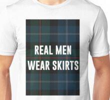 Real Men Wear Skirts (Light Shirts) Unisex T-Shirt