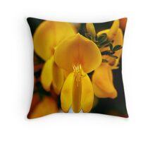 yellow wonder ... Throw Pillow