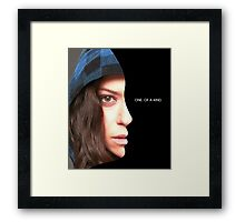 Sarah Manning - Orphan Black - one of a kind Framed Print