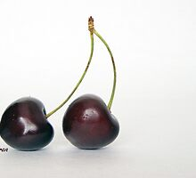 twin cherries by Fran E.