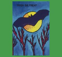 Halloween bat and moon trick or treat Kids Clothes