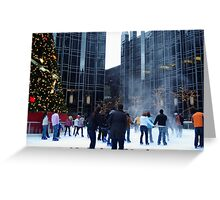 PPG Place in Pittsburgh, PA - Wind Made a Snowy Tornado Greeting Card