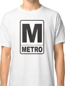 Metro Sign Classic T-Shirt