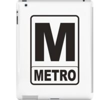 Metro Sign iPad Case/Skin