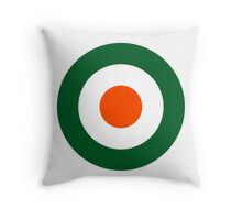 Roundel of the Côte d'Ivoire Air Force Throw Pillow