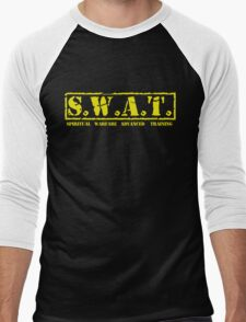 S.W.A.T. YELLOW Men's Baseball ¾ T-Shirt