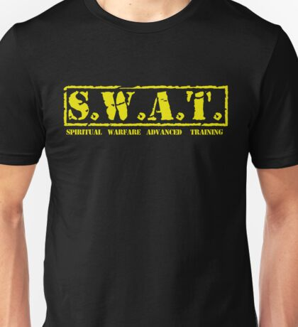 S.W.A.T. YELLOW Unisex T-Shirt