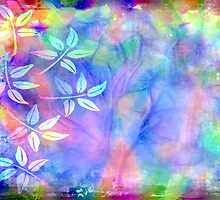 Colorful icy abstract by lldd11