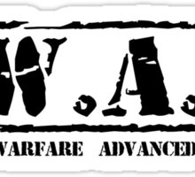 S.W.A.T. BLK Sticker