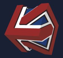 Union Jack Cube II by glyphobet